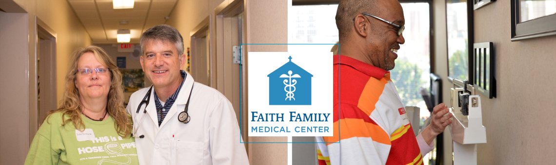 Bienvenidos a Faith Family Medical Center